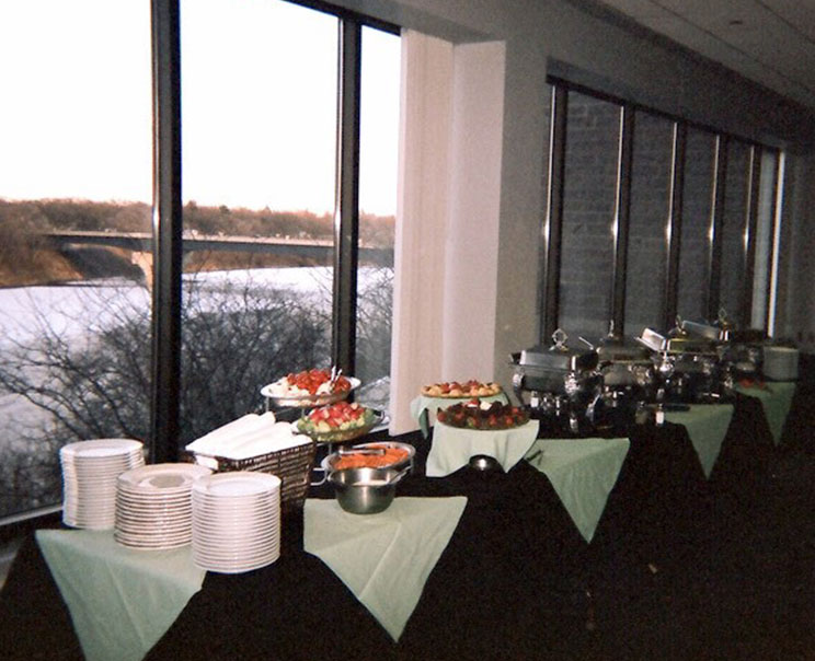 Banquet style catered event